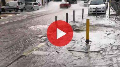 Photo of Lefkoşa'da yağmur ve dolu etkili oldu
