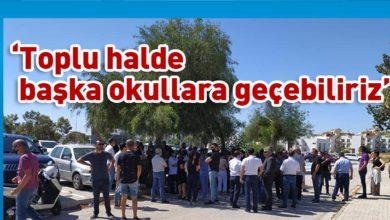 Photo of Levent Okulları velileri 'zam' kararına karşı eylem yaptı