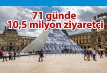 Photo of Louvre Müzesi'ne sanal ortamda 10 milyonu aşkın ziyaret