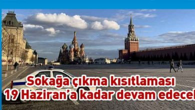 Photo of Moskova'da yeni Kovid-19 kararları alındı