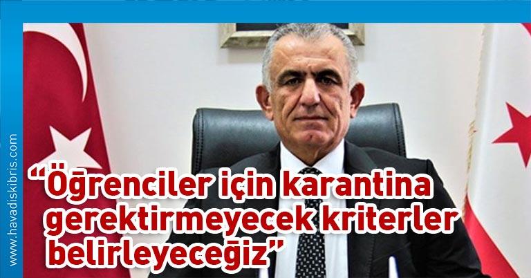 Milli Eğitim ve Kültür Bakanı Nazım Çavuşoğlu sosyal medya hesabından yaptığı açıklamada, dünkü Bakanlar Kurulu'nda öğrencilerin gelişleri ile ilgili alınan kararın Haziran için olduğunu vurguladı