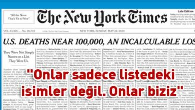 Photo of New York Times'tan çarpıcı manşet