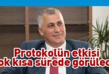 Photo of Amcaoğlu: Protokol tam da ihtiyaç olduğu dönemde imzalandı