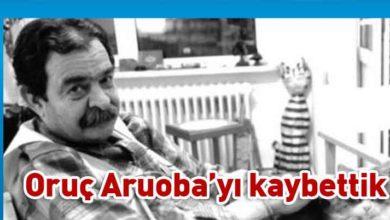 Photo of Ünlü yazar Oruç Aruoba hayatını kaybetti