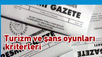 Photo of Açılım kriterleri belirlendi ve Resmi Gazete'de yayımlandı