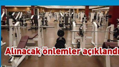 Photo of Kapalı Spor Salonlarında alınacak önlemler açıklandı