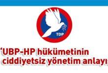 Photo of TDP: Halk kendi geleceğini ilgilendiren protokolü AA'dan öğrendi