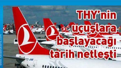 Photo of Türk Hava Yolları iç hat seferlerine 4 Haziran'da dış hat seferlerine de 10 Haziran'da başlayacak