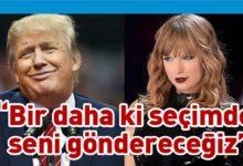 Photo of Taylor Swift'ten Donald Trump'a ırkçılık suçlaması