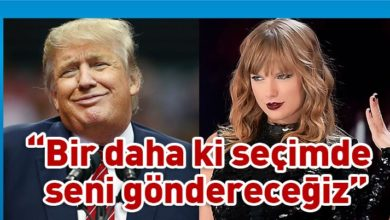 Photo of Taylor Swift'ten Donald Trump'a ırkçılık suçlaması