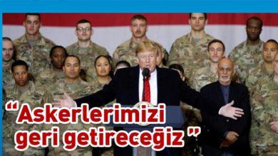 Photo of Trump: 19 yıldır Afganistan'dayız, artık yeter!