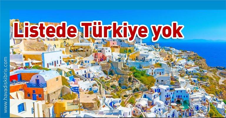 Yunanistan 15 Haziran'dan itibaren turist kabul edeceği ülkelerin listesini açıkladı. Türkiye listede yok 29 ülkenin arasında Yunanistan'ın komşuları Kuzey Makedonya, Arnavutluk ve Bulgaristan yer alırken Türkiye bulunmuyor