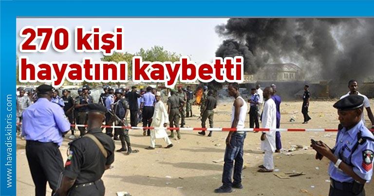 Batı Afrika ülkesi Nijerya'nın Sokoto eyaletinde Ocak'tan bu yana düzenlenen 20 ayrı saldırıda 270 kişi hayatını kaybetti