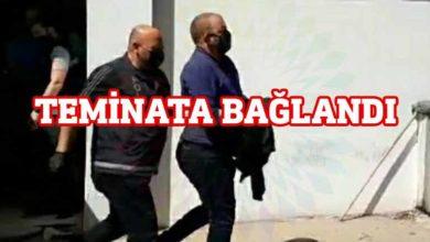 Photo of Ahmet Sennaroğlu teminatla serbest