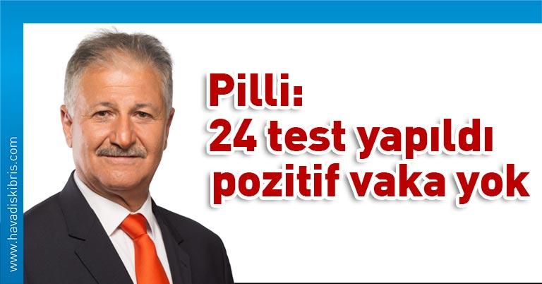 KKTC Sağlık Bakanı Ali Pilli