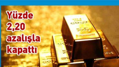 Photo of Altının kilogramı 372 bin 100 liraya geriledi