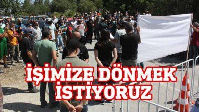 Photo of Güneyde çalışan işçiler araçlı eylem yaptı
