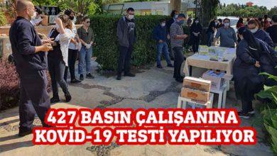 Photo of Basın çalışanlarına Kovid-19 testi yapılıyor