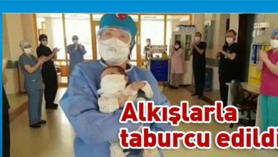 Photo of 45 günlük bebek, koronavirüsü yendi
