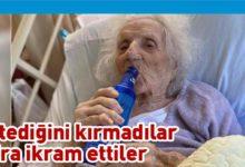 Photo of 103 yaşında koronavirüsü yendi, ilk isteği bira oldu
