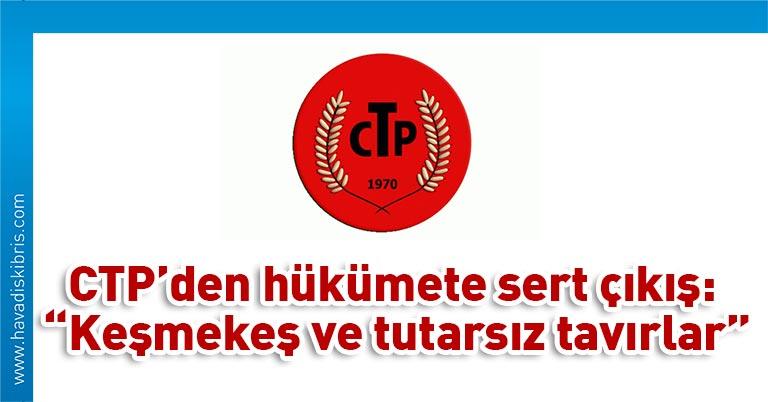 Cumhuriyetçi Türk Partisi (CTP) çalışma hayatıyla ilgili Covid-19 salgını süresince tüm kararların YGK (Yasa Gücünde Kararnameler) yolu ile alınmasının, demokratik süreçlerin yaşanmasında ciddi bir engel teşkil ettiğini belirtti