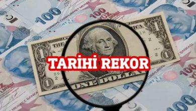 Photo of Dolar 7.24'ü aşarak tarihi rekorunu kırdı