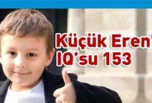 Photo of 5 yaşındaki Eren, ABD'deki üstün zekalılar okuluna tam burslu girdi