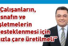Photo of Erhürman: Maliyenin Türkiye'den aldığı dış borçla yaşayacağı rahatlama da geçici olacak
