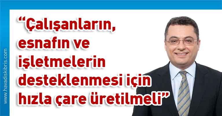 Cumhuriyetçi Türk Partisi Genel Başkanı Tufan Erhürman