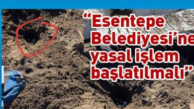 Photo of Yine Esentepe Plajı, yine kaplumbağa yumurtlama alanına müdahale!