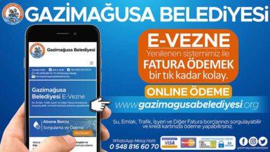 Photo of Gazimağusa Belediyesi e-vezne sistemi hizmette
