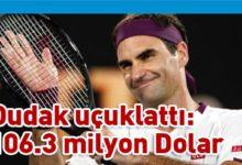 Photo of Dünyanın en çok kazanan sporcusu Roger Federer oldu