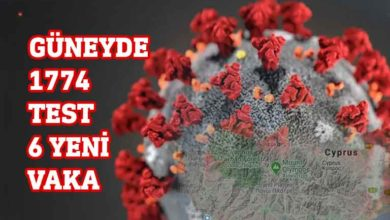 Photo of Güneyde 6 yeni vaka