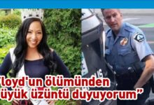 Photo of Floyd'un öldüren polisin eşi boşanma davası açtı