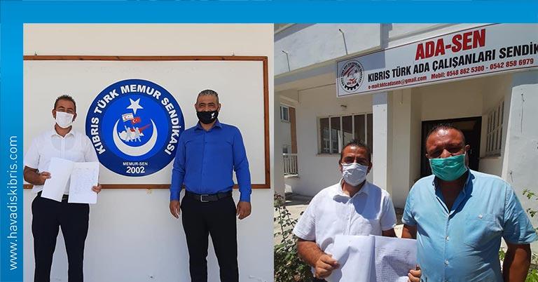 HAKSEN'in, İngilizce Eğitim Merkezi'nin (İEM) kapatılmaması için başlattığı imza kampanyasına bir destek de Memur Sendikaları Konfederasyonu Memursen ve Kıbrıs Türk Ada Çalışanları Sendikası Adasen'den geldi