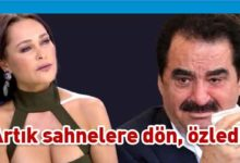 Photo of Hülya Avşar'dan İbrahim Tatlıses'i ağlatan sözler