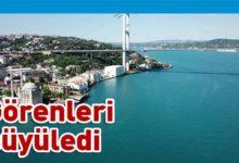 Photo of İstanbul Boğazı turkuaza büründü