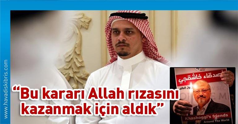 Cemal Kaşıkçı'nın oğlu Salah Kaşıkçı, ailesi adına yaptığı açıklamada, babasını öldürenleri affettiklerini ilan etti Suudi Arabistan'ın İstanbul Başkonsolosluğunda katledilen gazeteci Cemal Kaşıkçı'nın ailesi, cinayeti işleyenleri
