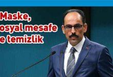 Photo of Kalın: Türkiye'ye gelen turistlere test uygulanacak