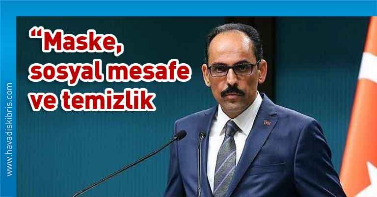 Türkiye Cumhurbaşkanlığı Sözcüsü İbrahim Kalın