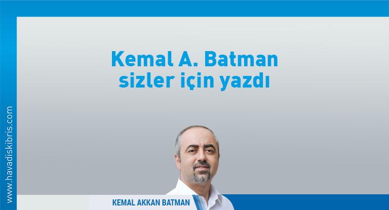 Kemal Akkan Batman