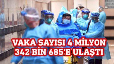 Photo of Dünya'da Kovid-19'dan iyileşenlerin sayısı 1 milyon 600 bini geçti