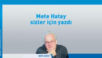 """Photo of Mete Hatay: Bayram bu tip konuları """"ötekilerini"""" düşünme günüdür"""