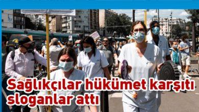 Photo of Paris'te sağlık çalışanları sokağa çıktı