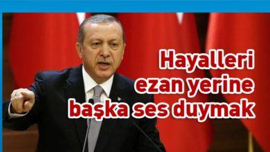 Photo of TC Cumhurbaşkanı Erdoğan'dan camiden müzik yayınına tepki