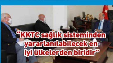 """Photo of Tatar: Kuzey Kıbrıs'ı """"Korona Temiz Ülke"""" olarak tanıtacağız"""