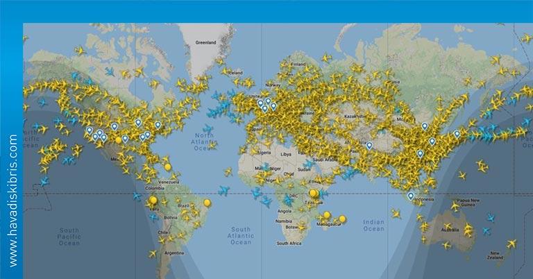 uçuş sayısı