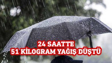 Photo of En çok yağış Alevkayası'na düştü