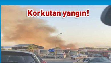 Photo of Hala Sultan, Tuzgölü yakınlarında korkutan yangın