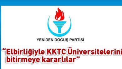 Photo of YDP: Hükümet ve YÖK, elbirliği ile KKTC üniversitelerini bitiriyor